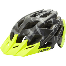 Lazer Ultrax+ ATS Helm mat black camo/flash yellow